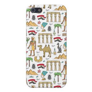 Carcasa Para iPhone 5 Símbolos del color del modelo de Egipto