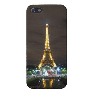 Carcasa Para iPhone 5 Torre Eiffel en la noche, París