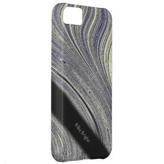 Carcasa Para iPhone 5C Caso personal iPhone5 de la luz tenue azul del