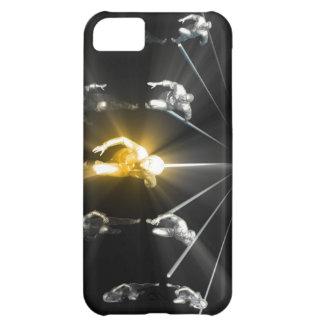 Carcasa Para iPhone 5C Ciencia del desarrollo y servicio personales el