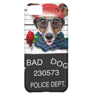 Carcasa Para iPhone 5C Enchufe divertido Russell, perro del Mugshot