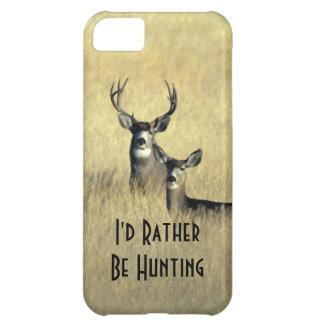 Carcasa Para iPhone 5C gama masculina del dólar del ciervo mula de la col
