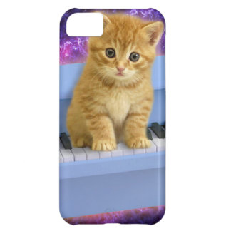 Carcasa Para iPhone 5C Gato del piano
