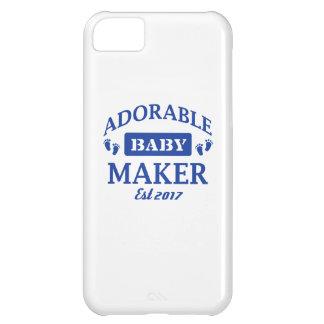Carcasa Para iPhone 5C Hago a bebés adorables