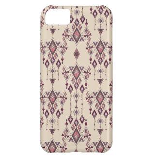 Carcasa Para iPhone 5C Ornamento azteca tribal étnico del vintage