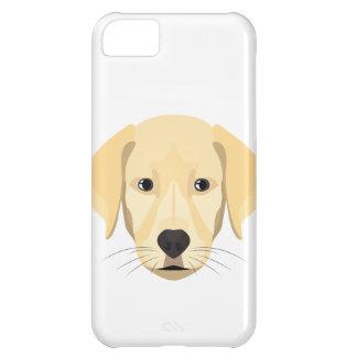 Carcasa Para iPhone 5C Perrito Retriver de oro del ilustracion