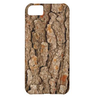 Carcasa Para iPhone 5C Textura de la corteza del pino
