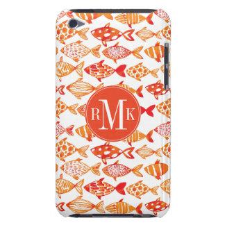 Carcasa Para iPod Modelo anaranjado brillante de los pescados de la