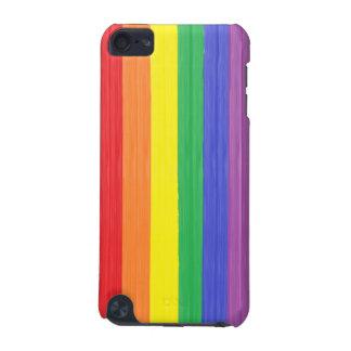 Carcasa Para iPod Touch 5 Bandera pintada del arco iris