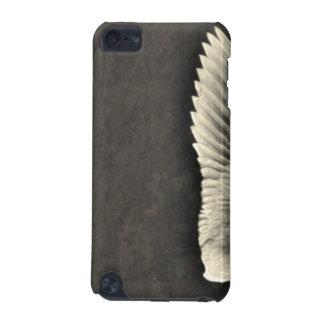 Carcasa Para iPod Touch 5 el ángel del iphone se va volando el grunge oscuro