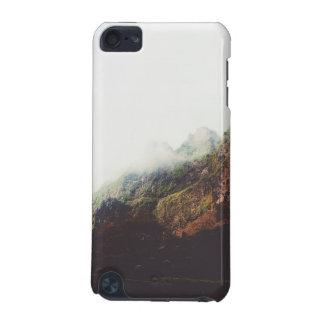 Carcasa Para iPod Touch 5 Montañas brumosas, escena de relajación del