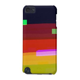 Carcasa Para iPod Touch 5G Arte abstracto del arco iris