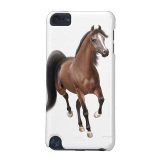 Carcasa Para iPod Touch 5G Caso árabe del tacto 4G de iPod del caballo de la