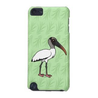 Carcasa Para iPod Touch 5G Cigüeña de madera de Birdorable