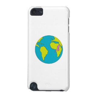 Carcasa Para iPod Touch 5G Corredor de maratón que corre Suramérica África