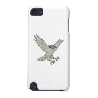 Carcasa Para iPod Touch 5G Dibujo Swooping del Harpy