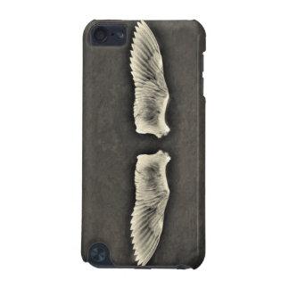 Carcasa Para iPod Touch 5G el ángel del iphone se va volando el grunge oscuro