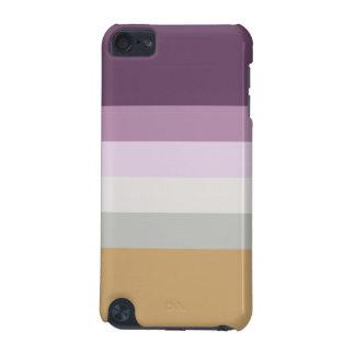Carcasa Para iPod Touch 5G Seis colores - amarillo gris rosado púrpura