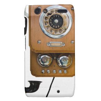 Carcasa Para Motorola Droid RAZR línea teléfono de la tierra del dial rotatorio del