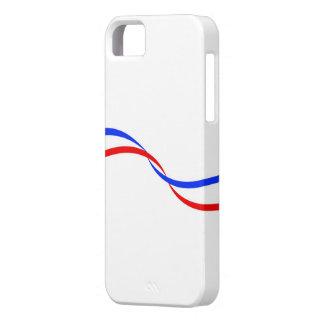 Carcasa para móvil con bandera francesa iPhone 5 carcasas