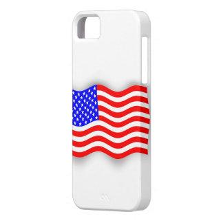Carcasa para móvil con bandera Norteamericana iPhone 5 Carcasas