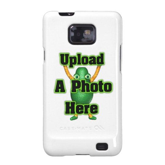 Carcasa Para Samsung Galaxy SII Foto o arte de la carga por teletratamiento en el