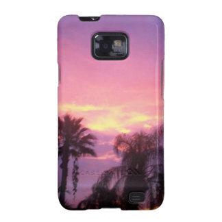 Carcasa Para Samsung Galaxy SII Puesta del sol de Coloful la Florida
