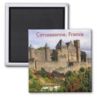 Carcasona, Francia Imán Cuadrado