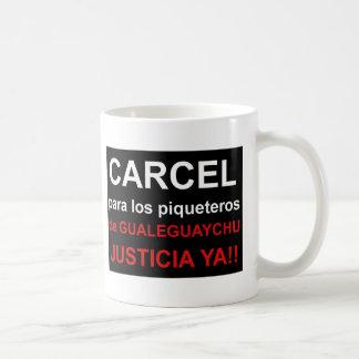Carcel de Taza piqueteros de Gualeguaychú de un