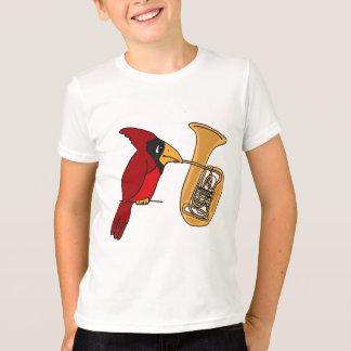 Cardenal AI que juega la camisa de la tuba