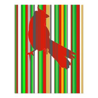 Cardenal rojo folleto 21,6 x 28 cm