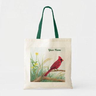 Cardenal rojo - la bolsa de asas adaptable