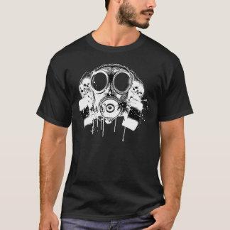 Careta antigás libre del lechón de Hiphop Camiseta