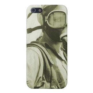 Caretas antigás militares retras de las mujeres 40 iPhone 5 cárcasa