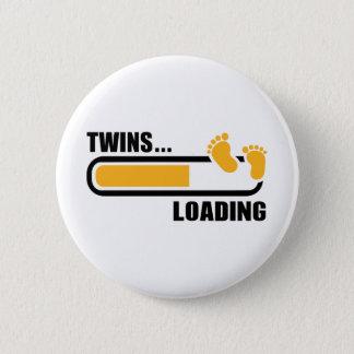 Carga de los gemelos chapa redonda de 5 cm