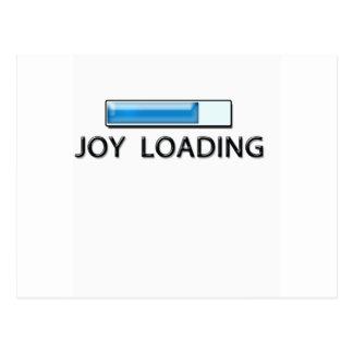 cargamento de la alegría postal