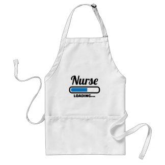 Cargamento de la enfermera delantal