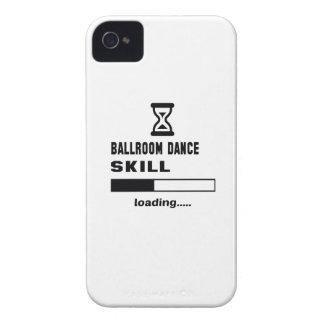 Cargamento de la habilidad de la danza de salón de Case-Mate iPhone 4 protector