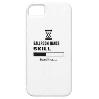 Cargamento de la habilidad de la danza de salón de iPhone 5 Case-Mate cárcasas