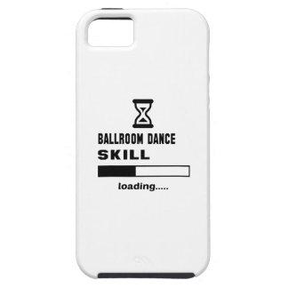 Cargamento de la habilidad de la danza de salón de iPhone 5 protector