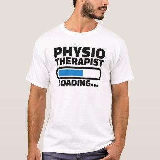 Cargamento del fisioterapeuta camiseta