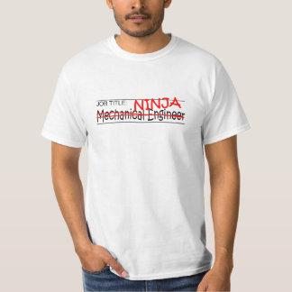 Cargo Ninja - inglés Mech Camiseta