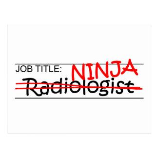 Cargo Ninja - radiólogo Postal