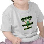 Cargue su arte en artículos de encargo del zazzle  camiseta