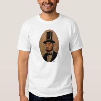Caricatura de Abe Lincoln Camiseta
