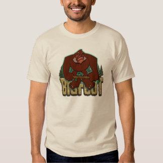 Caricatura de Bigfoot Camiseta
