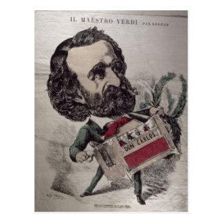 Caricatura de IL Maestro', del italiano Postal