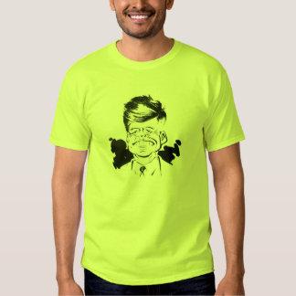 Caricatura de JFK Camisetas