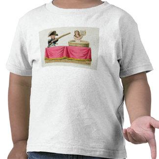 Caricatura de la carta constitucional camisetas