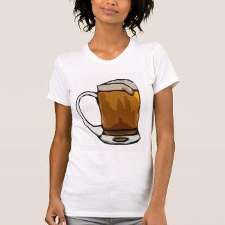 Caricatura de la taza de cerveza camisas